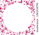 falling stars confetti... | Shutterstock .eps vector #1381918790