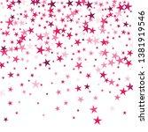 falling stars confetti... | Shutterstock .eps vector #1381919546