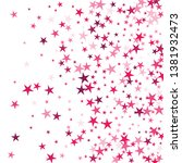 falling stars confetti... | Shutterstock .eps vector #1381932473