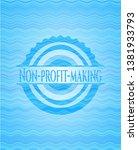 non profit making light blue...   Shutterstock .eps vector #1381933793