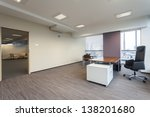 empty manager's office in a... | Shutterstock . vector #138201680