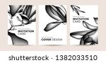 design concept of invitation... | Shutterstock .eps vector #1382033510