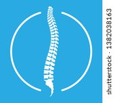 spine human graphic icon.... | Shutterstock .eps vector #1382038163