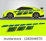 vinyls sticker yellow decals... | Shutterstock .eps vector #1382048570