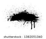 black vector grunge background  ... | Shutterstock .eps vector #1382051360
