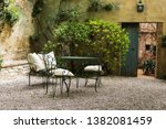 beautiful old streets in an... | Shutterstock . vector #1382081459
