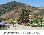 march 25  2019  douro valley ... | Shutterstock . vector #1382104730