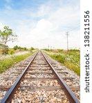 Classical Railway Or Railroad...