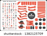 vintage retro vector logo for... | Shutterstock .eps vector #1382125709