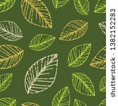 engraving. seamless pattern of... | Shutterstock .eps vector #1382152283