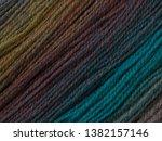 yarn macro texture. gradient...   Shutterstock . vector #1382157146
