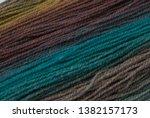 yarn macro texture. gradient...   Shutterstock . vector #1382157173