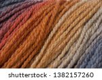 yarn macro texture. gradient...   Shutterstock . vector #1382157260