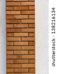 Brick Chimney Texture With...