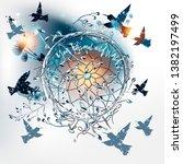 artistic vector illustration... | Shutterstock .eps vector #1382197499