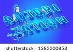 vector 3d neon effect isometric ...