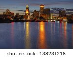 Hdr Image Of The Skyline Of...