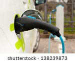 refueling an electric car  an... | Shutterstock . vector #138239873
