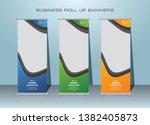 roll up banner design template  ... | Shutterstock .eps vector #1382405873