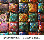 traditional moroccan colorful... | Shutterstock . vector #1382415563