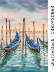 Painting Of Venice Italy. Gran...
