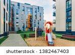 new modern residential... | Shutterstock . vector #1382467403