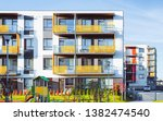 apartment residential house... | Shutterstock . vector #1382474540