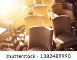 disorderly arranged chairs ...   Shutterstock . vector #1382489990