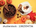 Pumpkin Spice Coffee With Star...