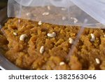 yummy indian street foods for... | Shutterstock . vector #1382563046