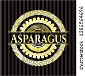 asparagus golden badge. vector...   Shutterstock .eps vector #1382564696
