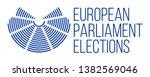 european parliament elections... | Shutterstock .eps vector #1382569046