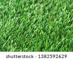 the horizontal natured green... | Shutterstock . vector #1382592629