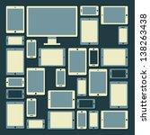 computer pattern | Shutterstock .eps vector #138263438