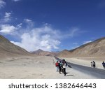 beautiful scenic places of leh... | Shutterstock . vector #1382646443