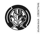 detail robot helmet...   Shutterstock .eps vector #1382677646