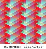 isometric seamless pattern ...   Shutterstock .eps vector #1382717576