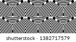seamless pattern with hypnotic...   Shutterstock .eps vector #1382717579
