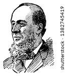 j. b. angell  1829 1916  famous ...   Shutterstock .eps vector #1382745419