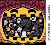 this is very happy halloween... | Shutterstock . vector #138280589