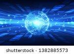 vector digital global... | Shutterstock .eps vector #1382885573