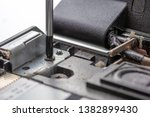 the screwdriver unscrews the...   Shutterstock . vector #1382899430