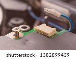 metal bolt fastening. computer...   Shutterstock . vector #1382899439