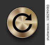 vector metal refresh icon  ...