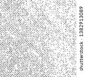 Pattern Grunge Texture Background, Black Abstract Dotted Vector, Old Halftone Grungy Monochrome