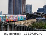 bts mo chit sky train station... | Shutterstock . vector #1382939240