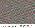 color seamless pattern with...   Shutterstock .eps vector #1383026216