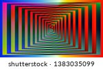 optical background with striped ...   Shutterstock .eps vector #1383035099