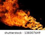 blaze fire flame | Shutterstock . vector #138307649