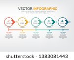 infographic elements design... | Shutterstock .eps vector #1383081443